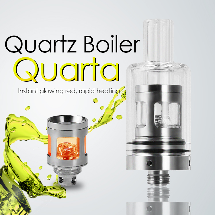 Quarta – Compact size wax tank equipped with powerful Glowcore™